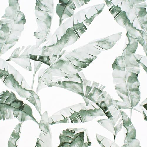 Papel pintado hojas acuarela 038
