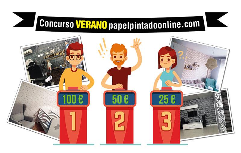Concurso Verano Papel pintado Online