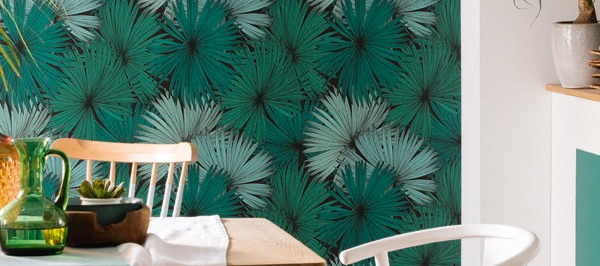 Papel pintado selva tropical